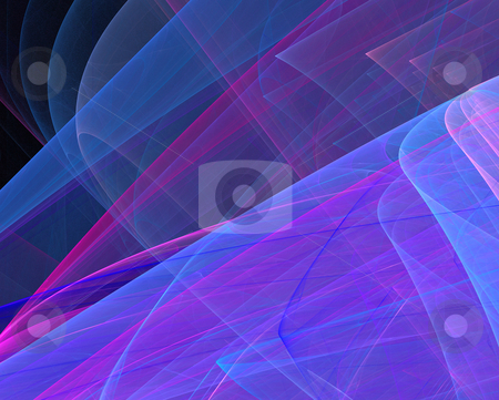 Abstract multicolor silk stock photo, Abstract multicolor silk on black by Igor Nazarenko