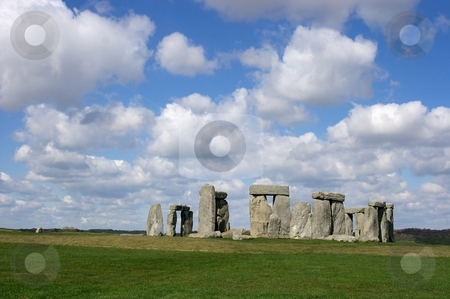 Stonehenge stock photo, Stonehenge in nice weather by P?