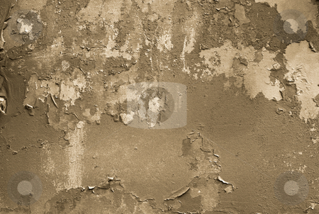 Grunge stock photo, Grungy background, wall with painting falling apart by P?