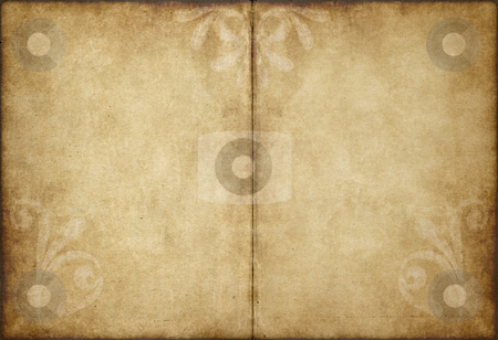 Old parchment paper stock vector clipart, Great image of old and worn parchment paper by Phil Morley
