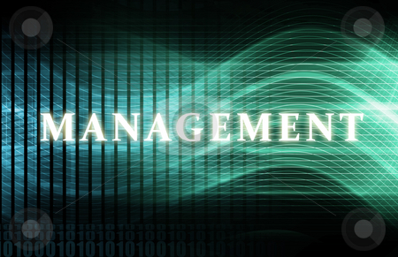 Management stock photo, Management as a Abstract Background Concept Art by Kheng Ho Toh