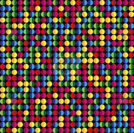 Seamless Abstract Colorful Dots Background.  stock vector clipart, Seamless Abstract Colorful Dots Background. Vector Image by AUGUSTO CABRAL