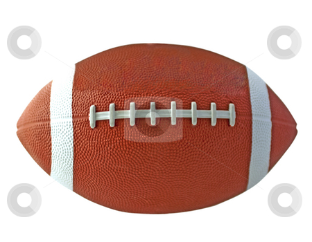 Football stock photo, View of a ball for american football by Fabio Alcini