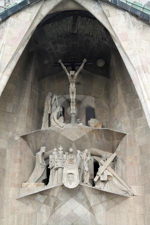 Sagrada Familia Detail stock photo, Details of the large Sagrada Fam?lia in Barcelona, Spain by Kevin Tietz