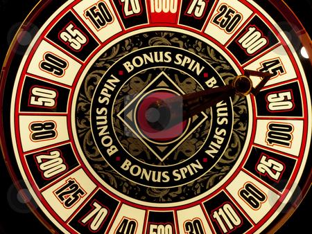 Casino game stock photo, Closeup of a casino slot machine by Laurent Dambies
