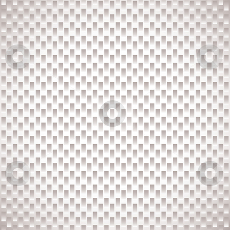 Carbon weave fiber white stock photo, White and grey abstract background with seamless repeat design by Michael Travers