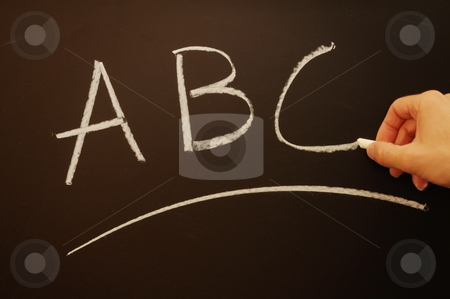 Education concept with chalkboard stock photo, Education learning or school concept with chalkboard by Gunnar Pippel