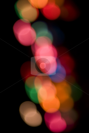 Abstract colours stock photo, A colorful background of out of focus light (bokeh) circles by Stephen Gibson