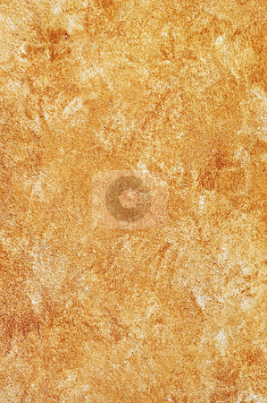Painted wall background stock photo, Background of old rustic painted concrete wall detail by Elena Elisseeva