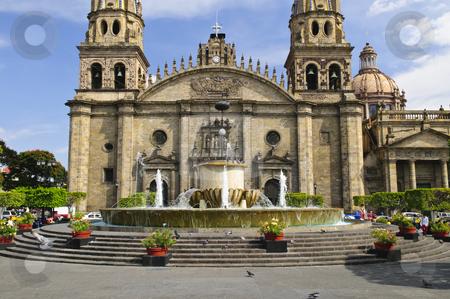 Guadalajara Cathedral in Jalisco, Mexico stock photo, Cathedral in historic  center in Guadalajara, Jalisco, Mexico by Elena Elisseeva