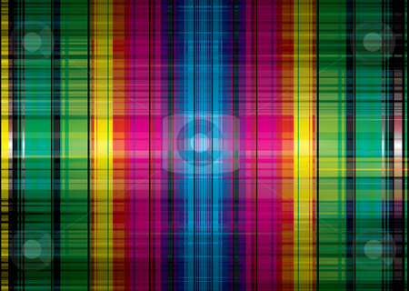 Rainbow band grunge background stock photo, Abstract rainbow background with bright colors ideal wallpaper by Michael Travers