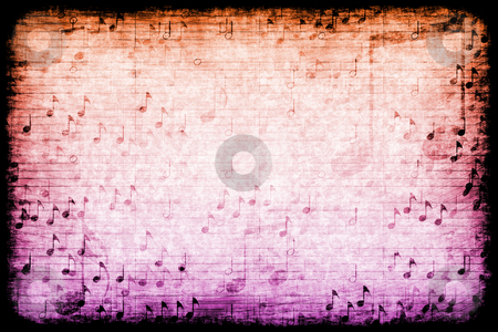 Music Themed Abstract Grunge Background stock photo, A Music Themed Abstract Grunge Background Texture by Kheng Ho Toh