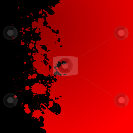 Blood Spots stock vector clipart, Bloody background for you by Richard Laschon