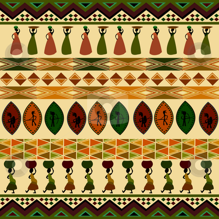 African Patterns Designs - Free Pattern Cross Stitch