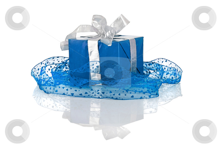 Gifts Boxes stock photo, Christmas season! Beautiful gift boxes with reflection by ikostudio