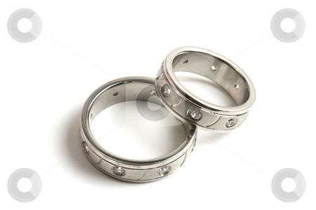 Rings stock photo, Wedding rings by Ingvar Bjork
