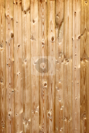 Panels in a pine wood fence close up. stock photo, Panels in a pine wood fence close up. by Stephen Rees