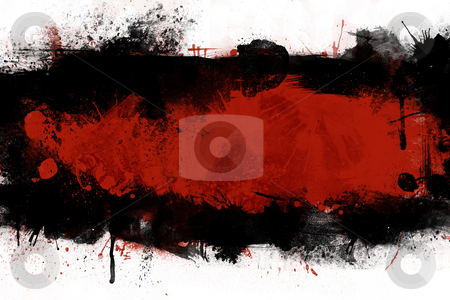 Ink abstract strip stock photo,  by Giordano Aita