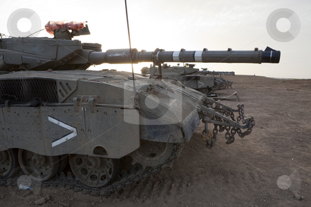 Merkava Mk 4 Baz Main Battle Tank stock photo, Israeli by Dmitry Pistrov