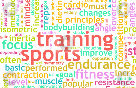 Sports Training stock photo, Sports Training Concept as a Workout Fitness by Kheng Ho Toh