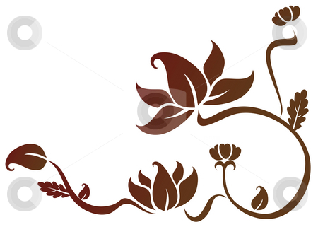 Lotus flower seamless pattern by amirage, Royalty free stock