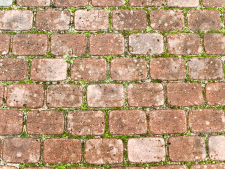 Brick background stock photo, Photo of old brick background by Sergej Razvodovskij
