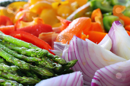 Fresh colorful vegetables stock photo, Fresh colorful vegetables by Andi Berger