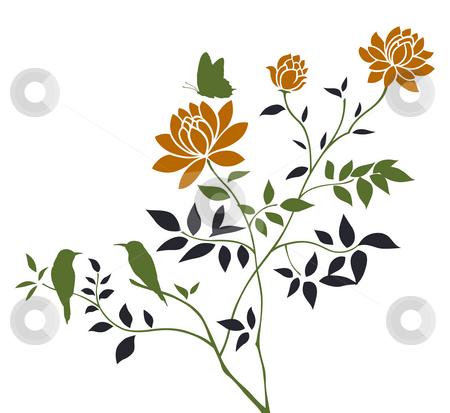 Birds Flowers Drawing Flower,butterfly,bird