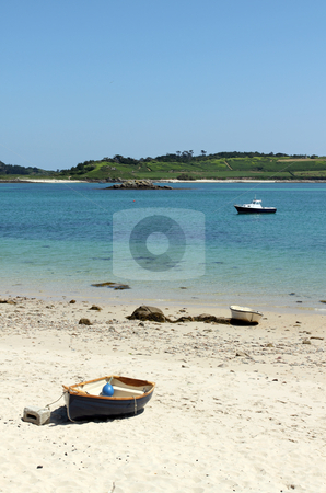 Green bay beach, Bryher Isles of Scilly. stock photo, Green bay beach, Bryher Isles of Scilly. by Stephen Rees