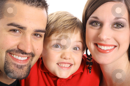 Gorgeous family portrait stock photo, Gorgeous family portrait by Andi Berger