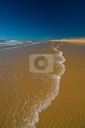 Am Atlatikstrand bei Lacanau Ocean, Frankreich - At the beaches  stock photo, Urlaub Frankreich 2009 by Wolfgang Heidasch