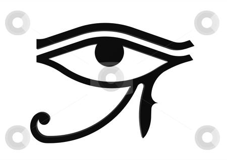 eye of horus symbol. Eye of Horus symbol of the