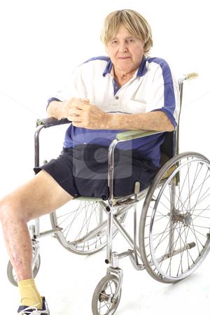 Cool handicap senior stock photo, Cool handicap senior by Andi Berger