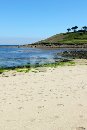 Pelistry beach, St. Mary?s, Isles of Scilly Cornwall UK. stock photo, Pelistry beach, St. Mary?s, Isles of Scilly Cornwall UK. by Stephen Rees