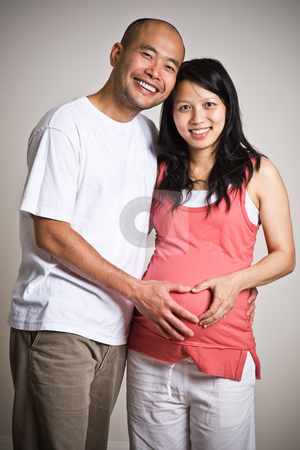 cutcaster photo 100766913 Pregnant asian couple You are no longer just a devoted brother to your sister.