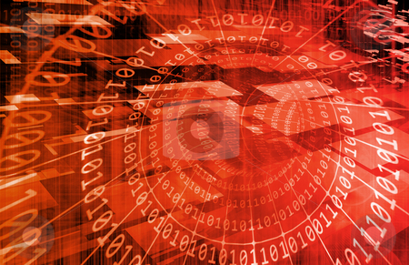 Network Security stock photo, Network Security as a Concept Background Art by Kheng Ho Toh
