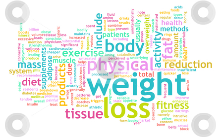 Weight Loss stock photo, Weight Loss Concept for a Healthy Lifestyle by Kheng Ho Toh