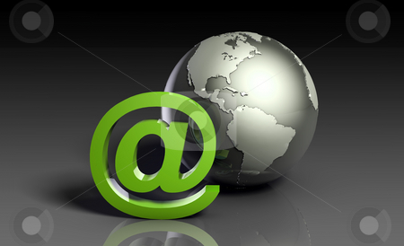 Internet Access stock photo, Global Internet Access with Online Business Art by Kheng Ho Toh