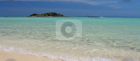 Koh Lipe stock photo, Panorama beach landscape in Koh Lipe, Thailand by Kjersti Jorgensen