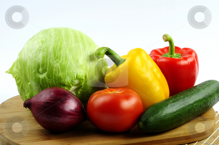 Vegetables stock photo, Vegetables by Agata Kuler