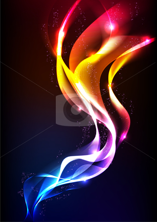 Abstract Vector Wave stock vector clipart, Vector available in EPS10 format. by Yien Keat Wong