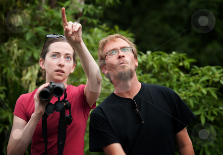 European and American tourists in Costa Rica stock photo, European and American tourists in Costa Rica by Scott Griessel
