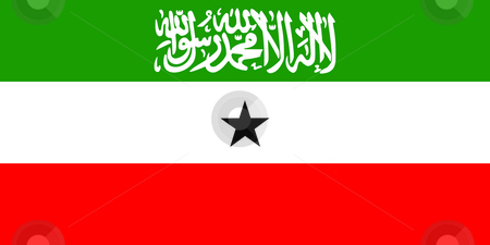 Somaliland Flag stock photo, Sovereign state flag of country of Somaliland in official colors. by Martin Crowdy