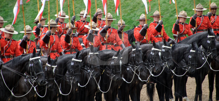 RCMP  stock photo, Pictue of the famous RCMP Royal Canadian Mounted Police by Alain Turgeon
