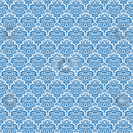 Blue seamless texture stock vector clipart, Blue seamless texture, abstract pattern; vector art illustration by Laschon Robert Paul