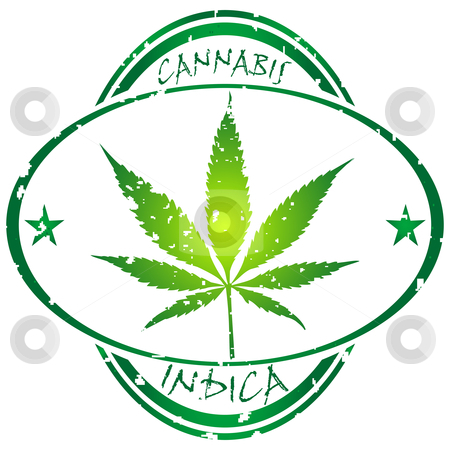 Cannabis stamp stock vector clipart, Cannabis stamp isolated on white background, abstract vector art illustration by Laschon Robert Paul