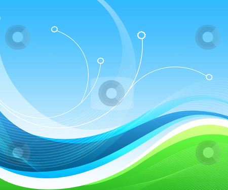 Blue lines abstract background download popular screensavers pictures