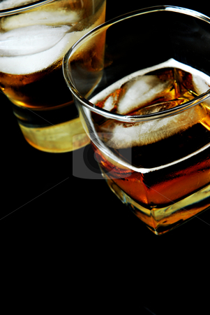 Cocktails stock photo, Whiskey cocktails by HD Connelly