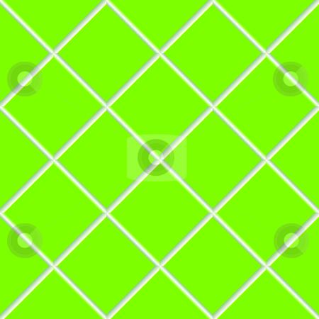 Green seamless ceramic tiles stock vector clipart, Green seamless ceramic tiles, abstract texture; vector art illustration by Laschon Robert Paul