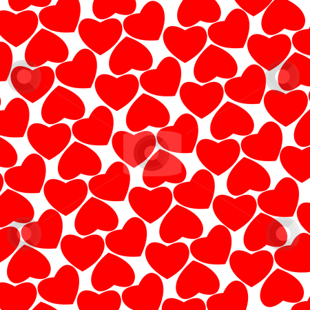 Heart pattern stock vector clipart, Heart pattern, vector art illustration by Laschon Robert Paul